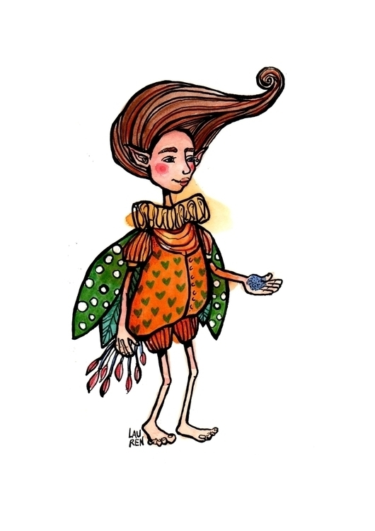 Whish Offers Fairy Dust - fairy - theartoflauren | ello