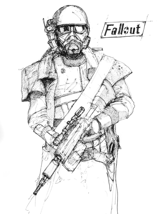 A3, Artpen 44 - sketch, sci-fi, scifi - jandraws | ello