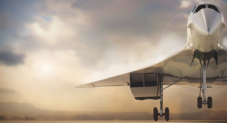 Concorde Landing - landing, 3d, illustration - remytrapp   ello