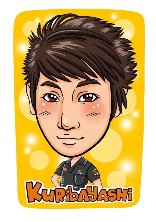 Japanese style caricature. clie - nesalomeya | ello