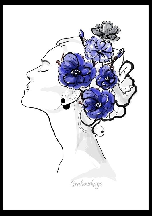 illustration, painting, drawing - grahovskaya | ello