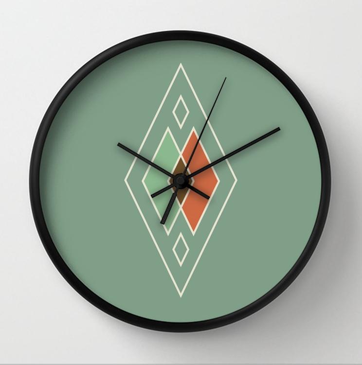 vintage wall clock design - vintageinspired - me_anie | ello