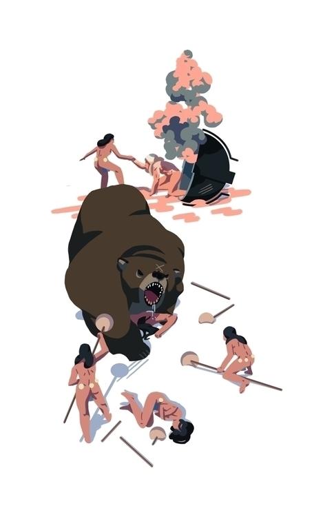 Amazons 5 - amazons, bear - h4rlock | ello