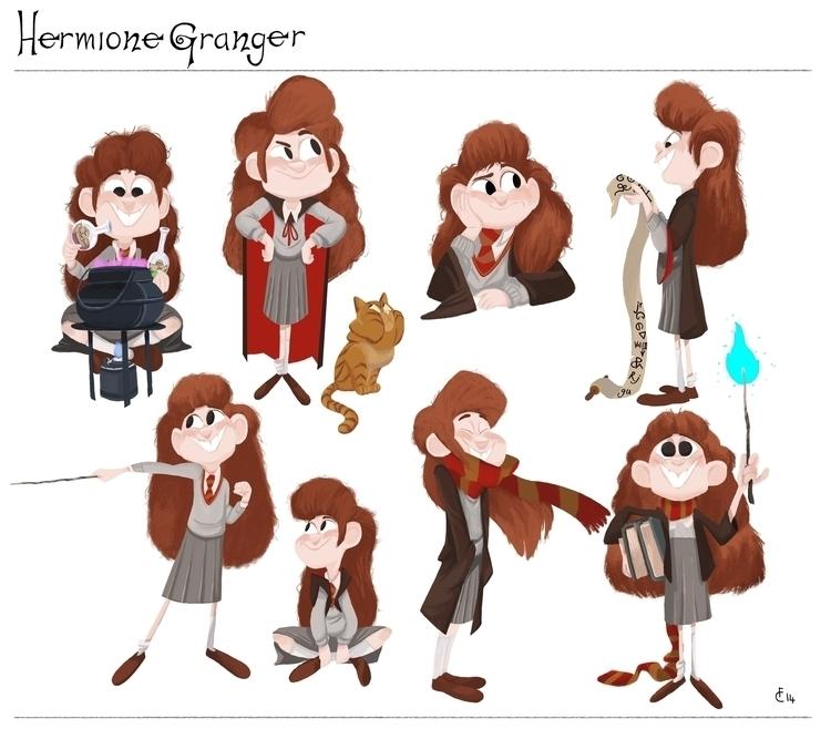 Hermione Granger modelsheet - hermionegranger - finbarcoyle | ello
