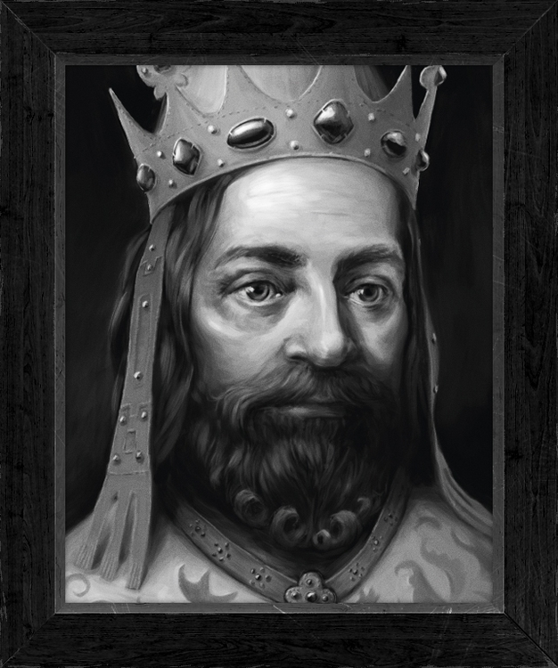 Karel IV Portrait created magaz - jakubcenkl | ello