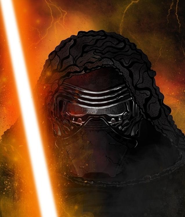 Star Wars Force Awakens (Kylo R - karylnerona | ello