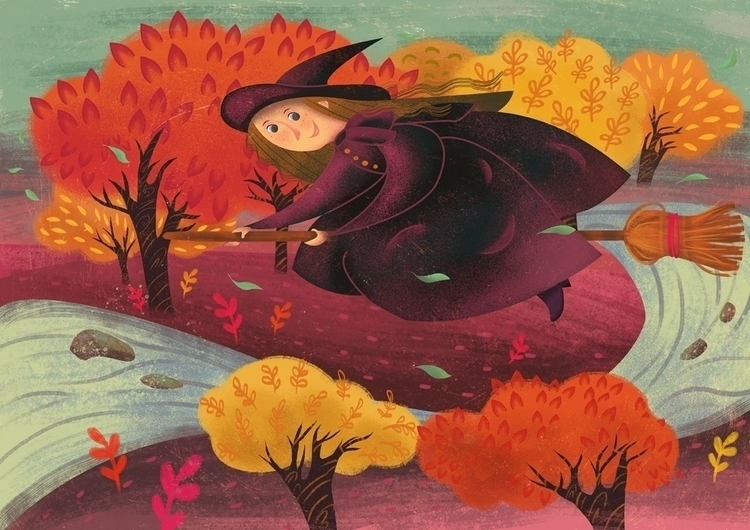 Halloween - illustration, children'sillustration - malgorzatadetner | ello