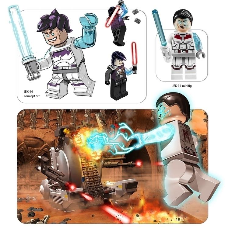 Jek-14 toy design Lego Star War - robking21 | ello