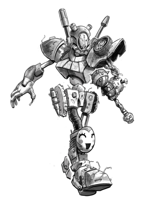 illustration, toydesign, characterdesign - robking21 | ello