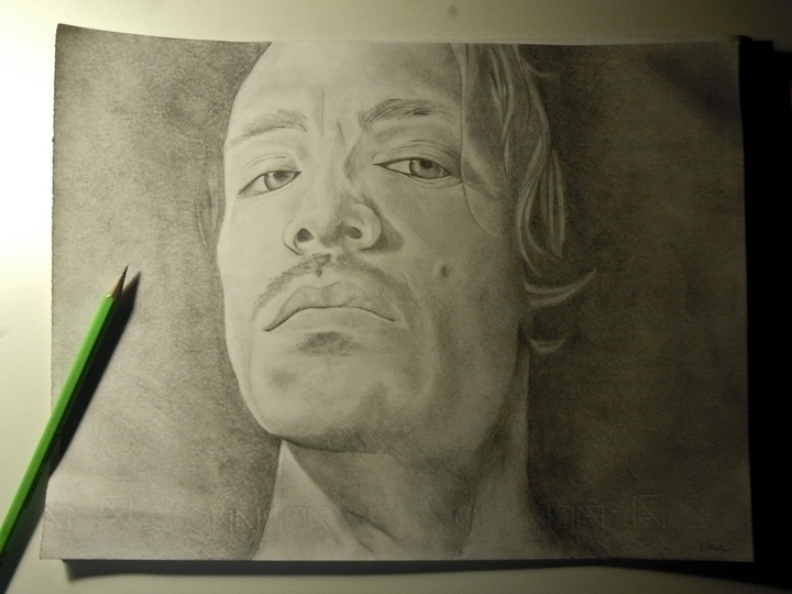 Brandon Boyd - drawing, pencil, brandonboyd - elenamantovan | ello