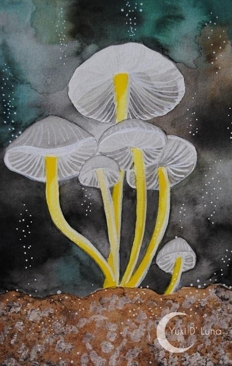 Yuki Luna - watercolor, painting - yukidluna | ello