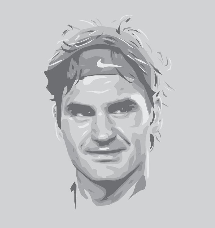 Roger Federer - switzerland, tennis - sga-2444 | ello