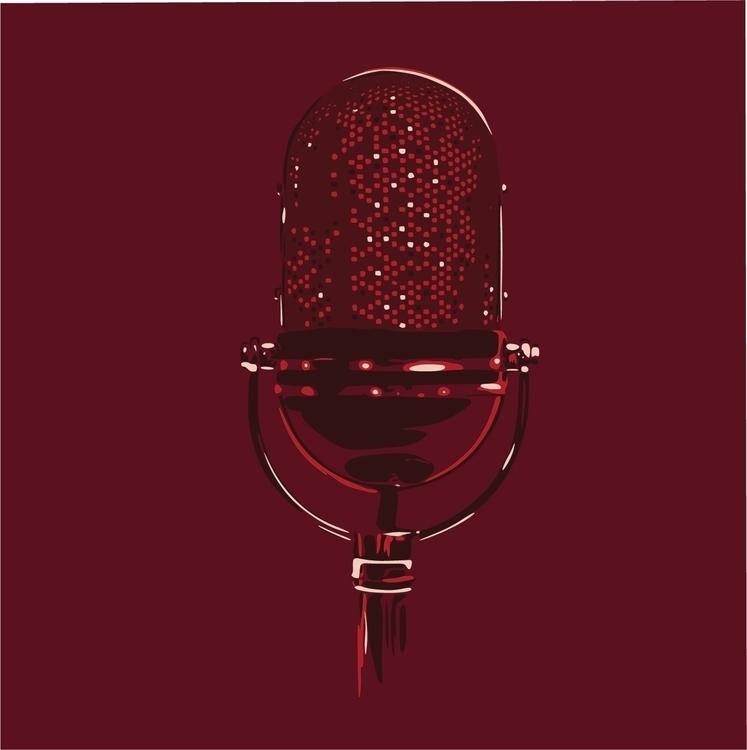 Microphone - microphone, mic, red - sga-2444 | ello