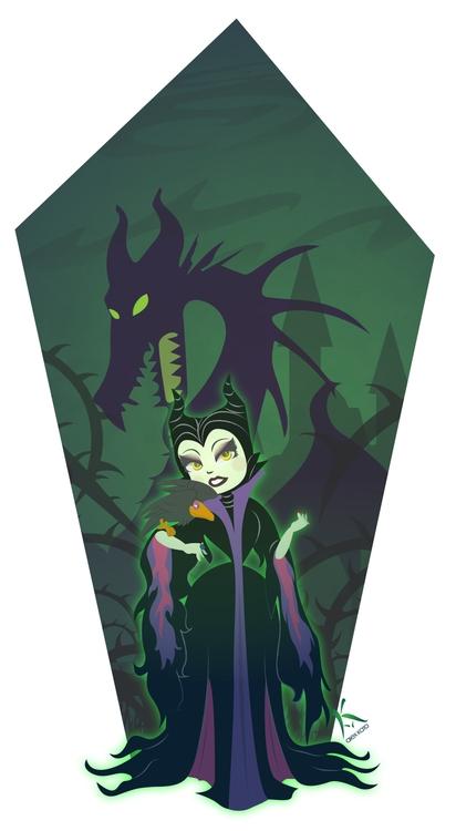 Maleficent - digitalart, illustration - axkato | ello