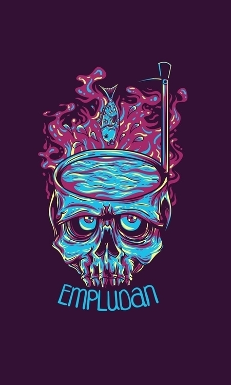 Empludan .. watch  - illustration - badsyxn | ello