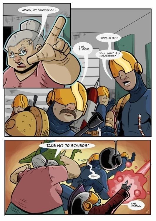 comics, comicbooks, comicpage - cemok | ello