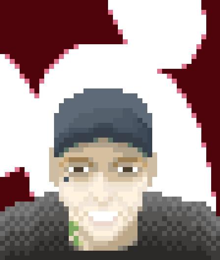 Deadmau5 - deadmau5, edm, pixelart - jesselane | ello