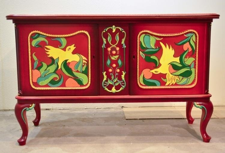 Mediterranean birds commode - furniture - norahuszka | ello