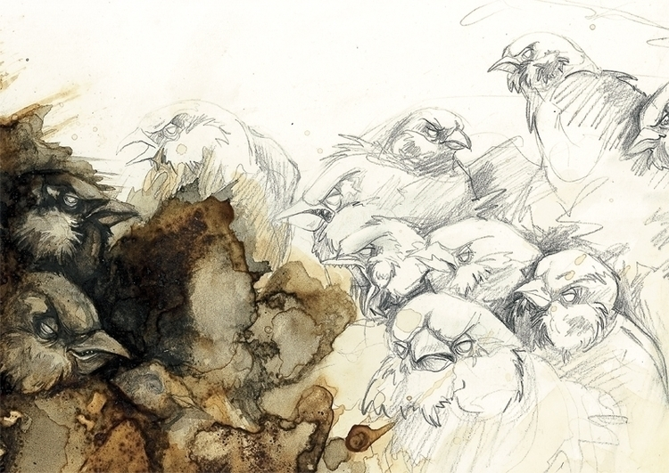 illustration - maukins   ello