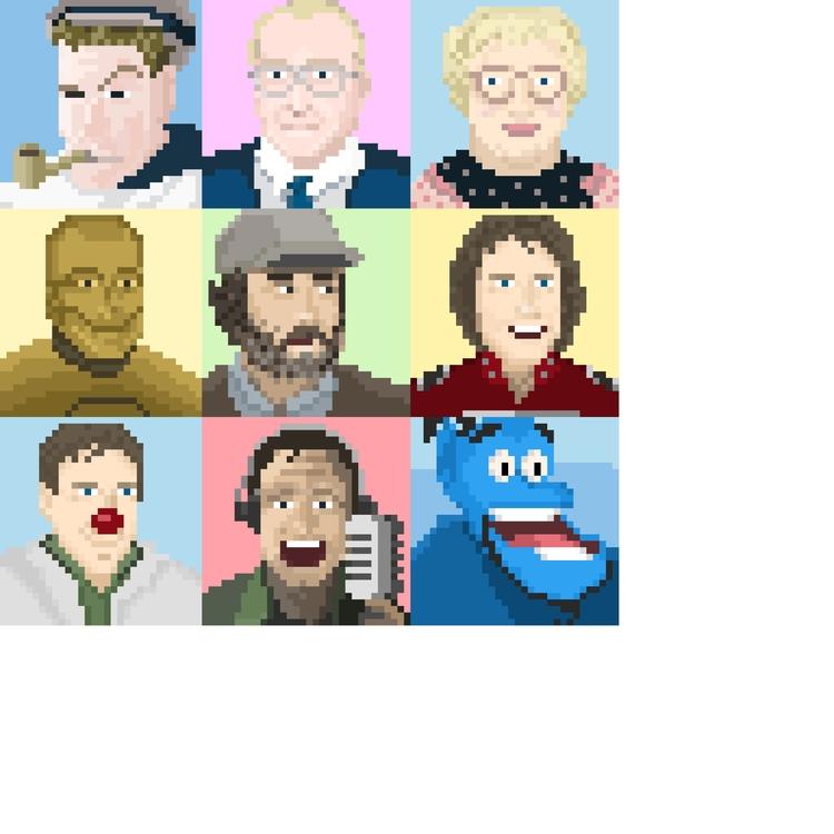 Robin Williams - robinwilliams, pixelart - jesselane | ello