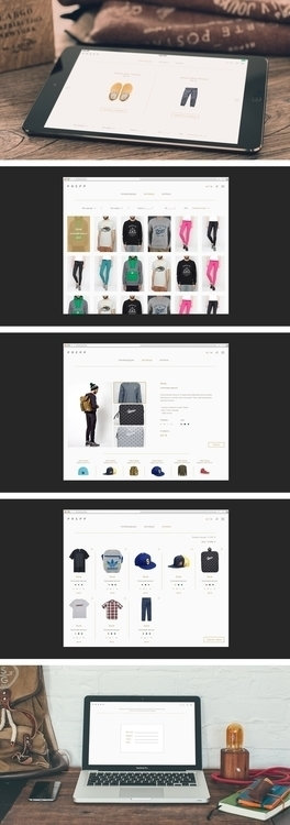 Prepp - design, fashion, website - handco | ello