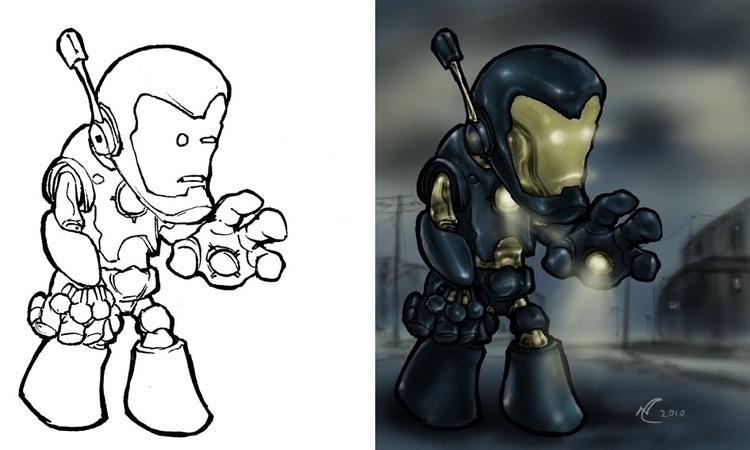 Robot - waivisuals | ello