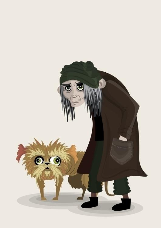 illustration, painting, characterdesign - lily-8364 | ello