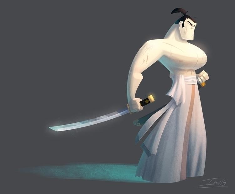 samurai jack - samuraijack, fanart - ivan_escalante | ello