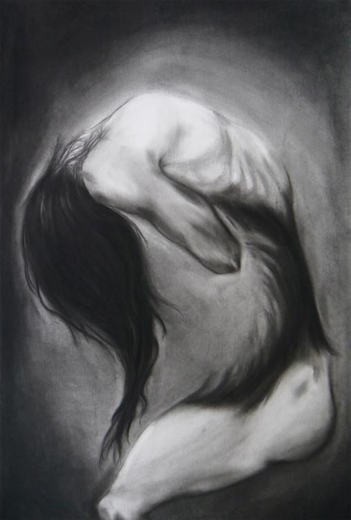 darkart, drawing, madness, illustration - yaizacamps   ello