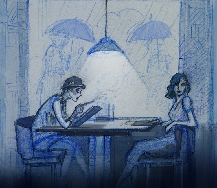 sketches - sketchbook, sketch - mircha   ello