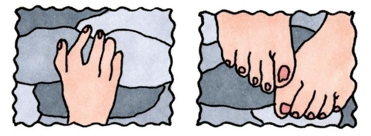 feet, foot, handdrawn, hands - ajsazdrav | ello