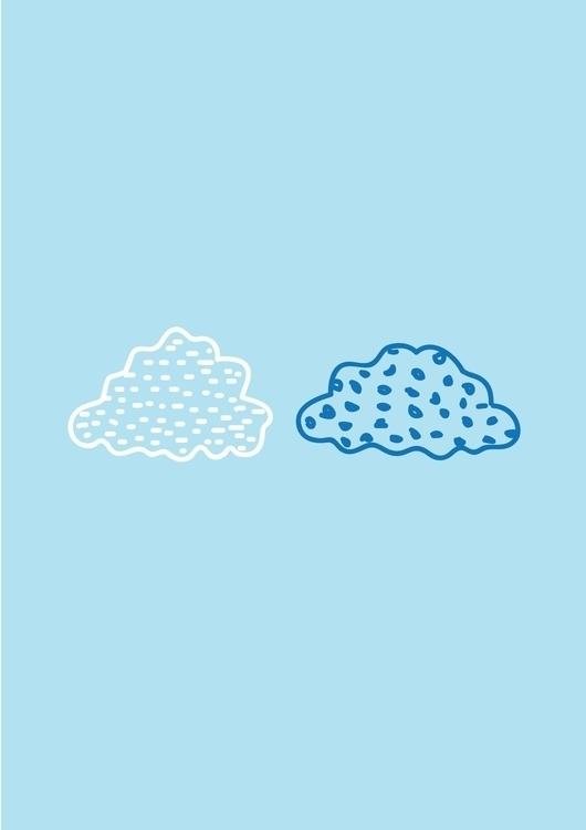 cloud, beatrizalao, illustration - beatrizalao | ello