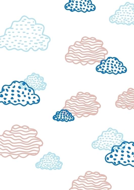 clouds, beatrizalao, pattern - beatrizalao   ello