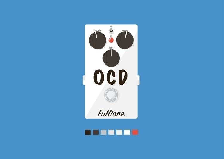 OCD Fulltone Overdrive - illustration - asyrafchazz | ello