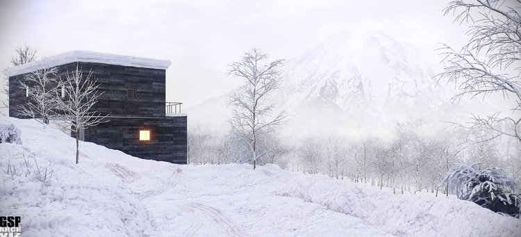 3D Visualization House - architecturalvisualisation - totozoos | ello