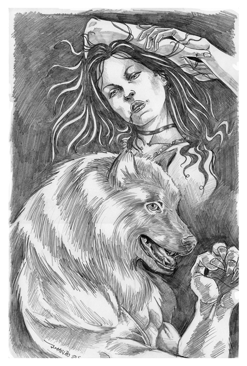 Vampire puppy - vampire, werewolf - daborien | ello