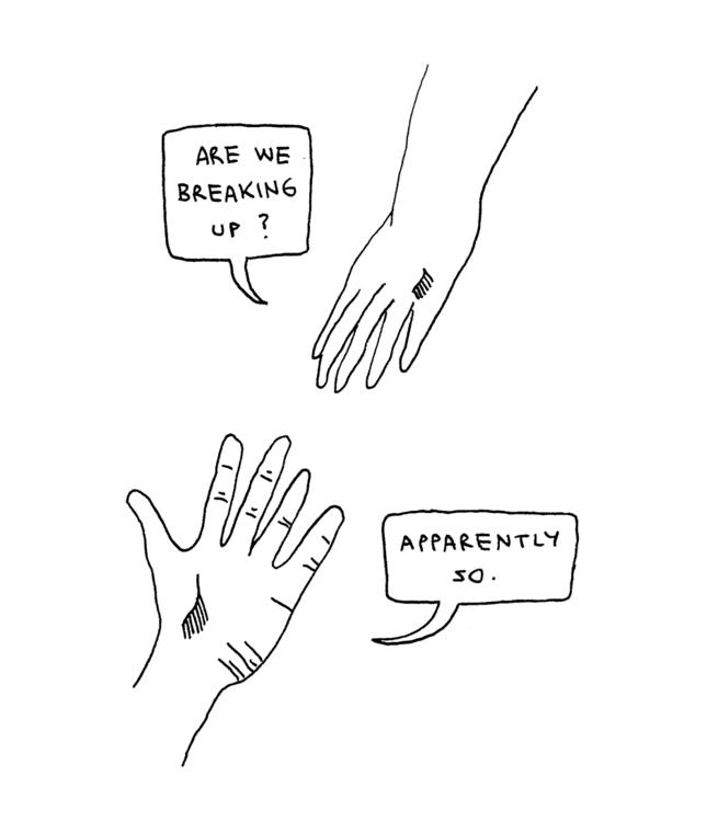 scribble, breaking, love, relationship - ajsazdrav | ello