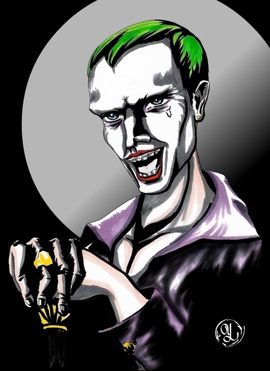 Joker - illustration, characterdesign - yaksiart | ello