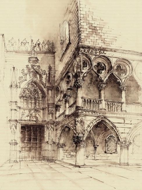 Venice - watercolor, watercolour - grimdream | ello