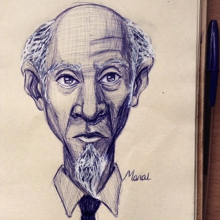 Ballpoint pen + correction - sketch - manalomayer | ello