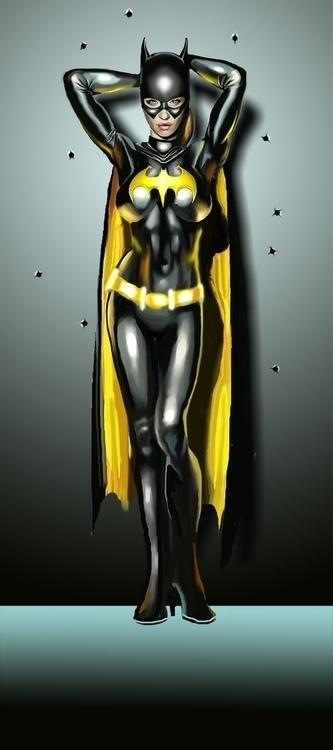 Batgirl Bullet - batgirl, dccomics - irkturk | ello