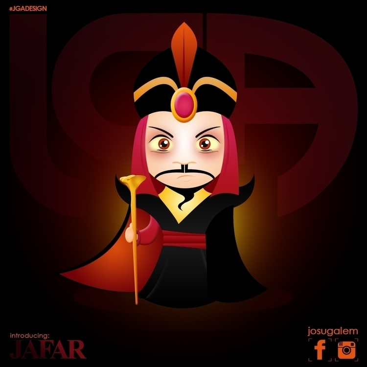 Jafar - aladdin, illustration, characterdesign - josugalem | ello