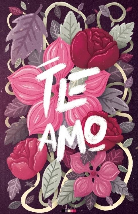 Poster girlfriend - illustration - charringo | ello