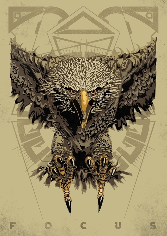 eagle - illustration, design - tim-1305 | ello