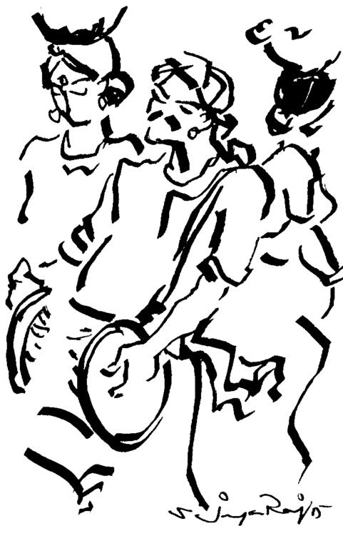 drawing, figuredrawing, folkart - sjayaraj999 | ello