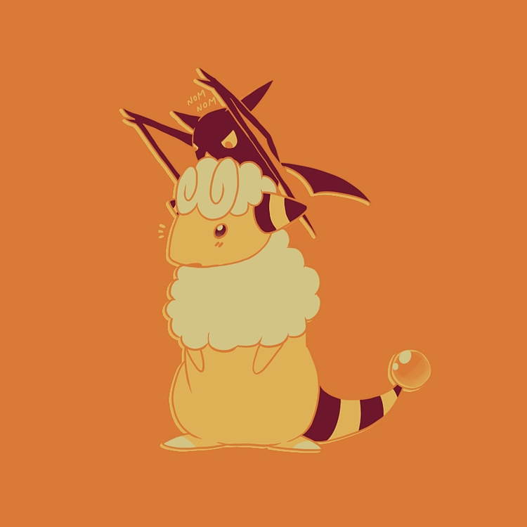 Flaaffy Crobat - flaaffy, crobat - pakutosaur | ello