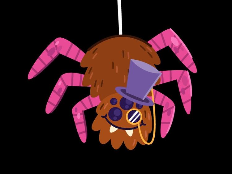 Spider wall, classiest - spider - carloberanek | ello