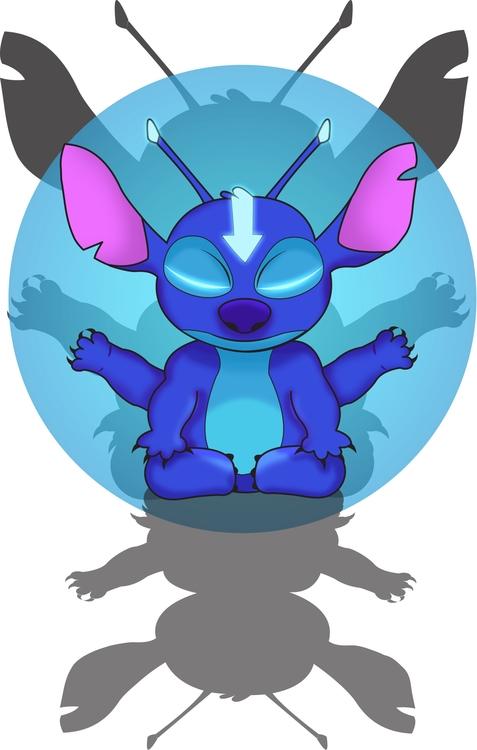 Avatar Stitch mushup. find stor - vanynany | ello
