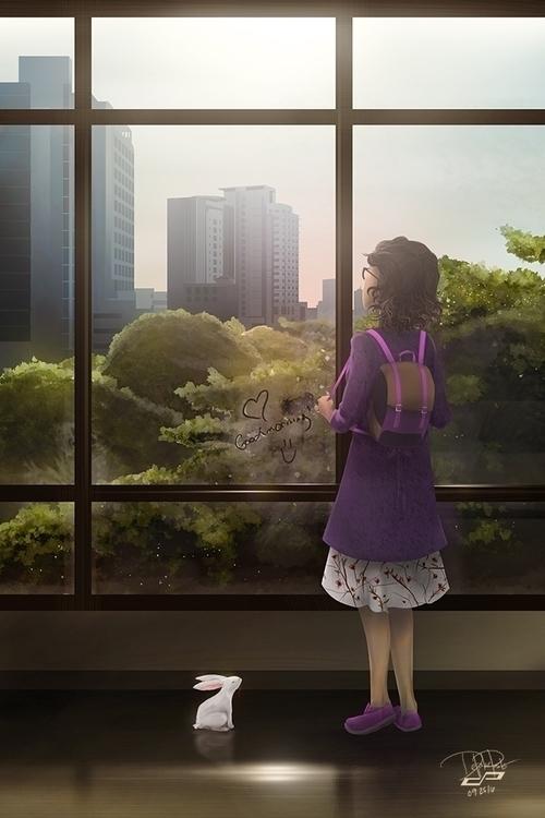 BEAUTIFUL MORNING YUPANGCO - illustration - pdp-3098 | ello