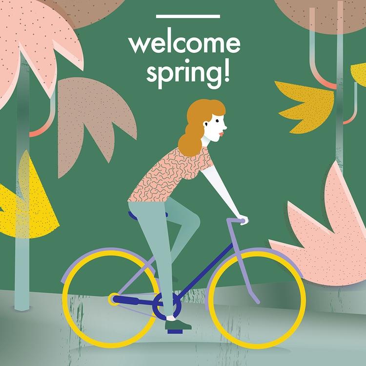 spring - magdaazab | ello